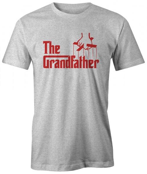 t skjorte The Grandfather uniketrykk.no nettbutikk